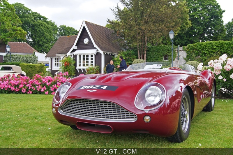aston martin db4 gt roadster bordeaux 3 4 avant gauche el gance chevaux vapeur 2010 classic. Black Bedroom Furniture Sets. Home Design Ideas