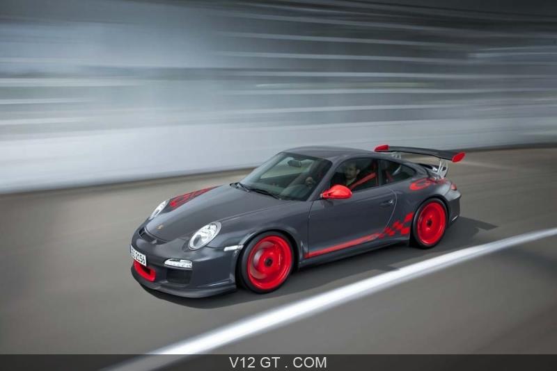 Porsche 911 Gt3 Rs Gris Rouge Dynamique Porsche