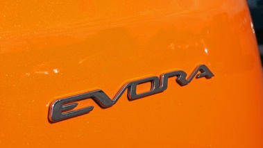 Lotus Evora orange logo