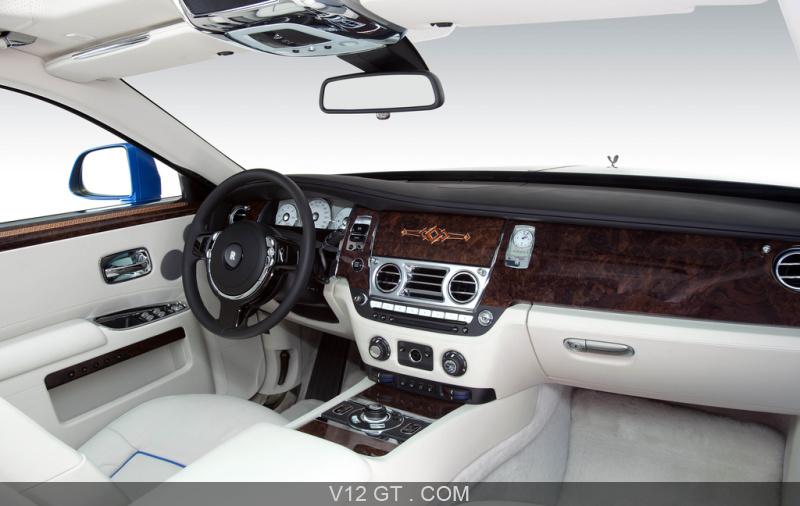Les rolls royce expos es au mondial de l 39 automobile 2012 for Interieur rolls royce